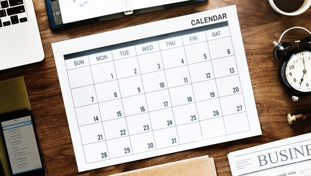 Important Dates in 2019 for Canadian Small Businesses